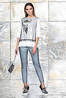 Женская белая блузка MERLIN 6.882. Noche Mio, фото 1