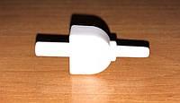 Коннектор переходник пластиковый прямой на автоматические и полуавтоматические тонометры