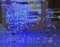 Куля Велосипед декоративна сяюча LED