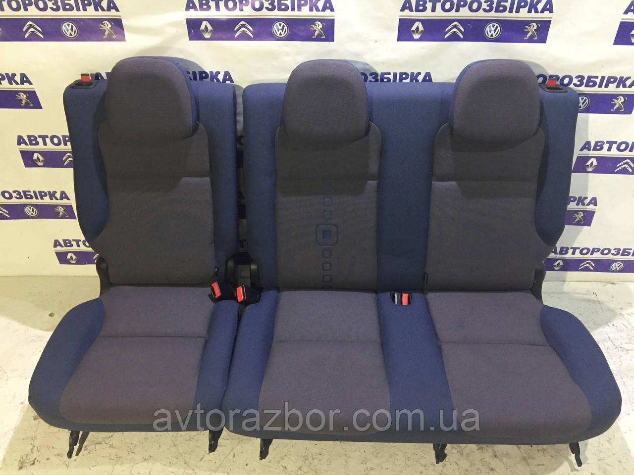 Сиденье заднее тройное 2+1 Peugeot Partner 2008-2012 Пежо Партнер