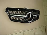 Решетка радиатора на Mercedes E-Сlass W212 (2009-2013), фото 1
