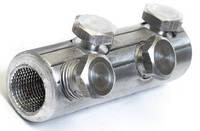 Гильза кабельная 2ГБС 25-50 мм² алюминиевая со срывными болтами , фото 1