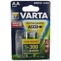 Аккумулятор  R6 Varta 2600mAh NiMH Prof (5716)(по 2шт)(Акция!!!)(предзаряженный) AA