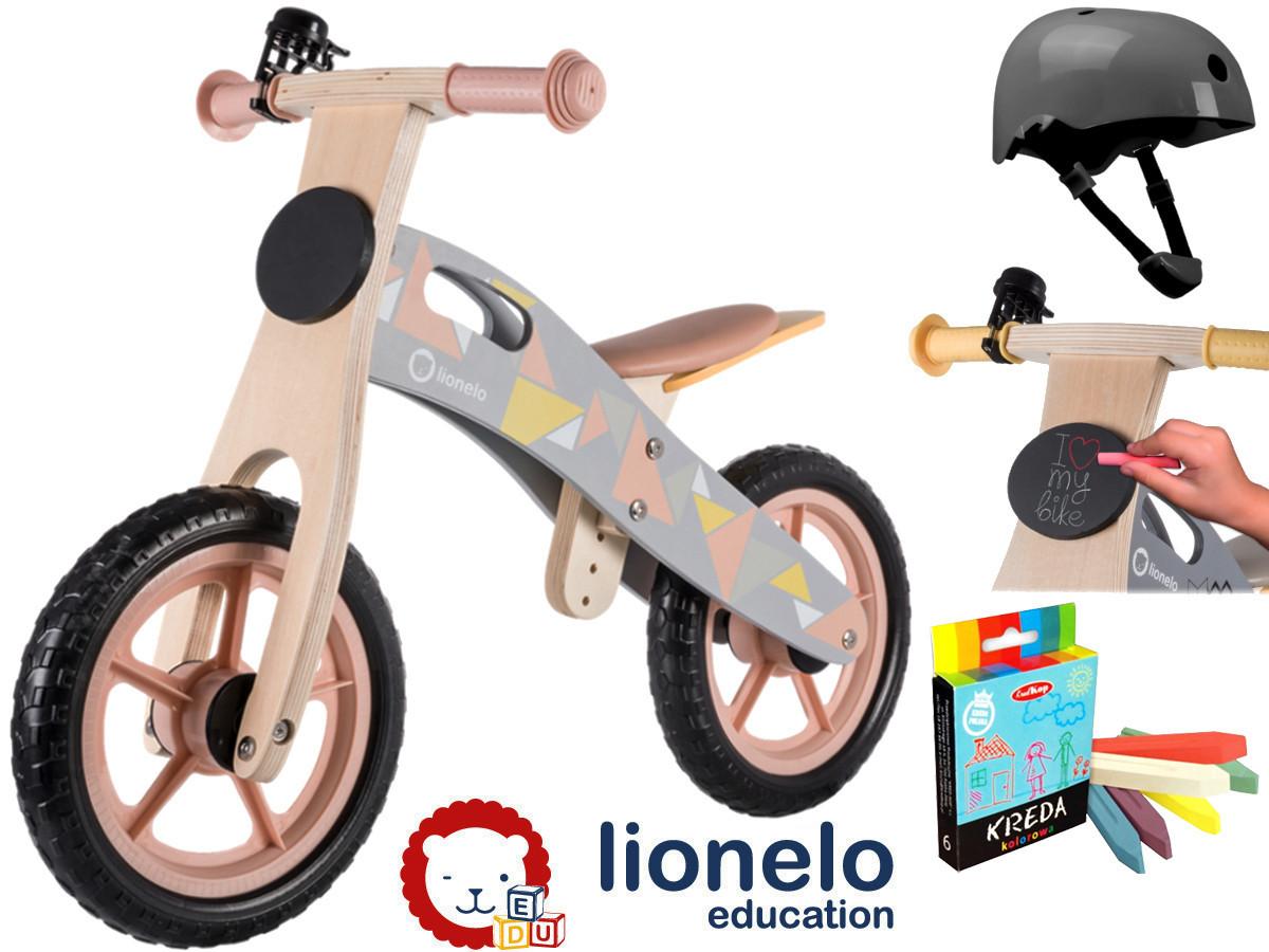 Велобіг LIONELO CASPER Beige