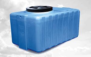 Ємність пластмасова 500 літрів квадратна N