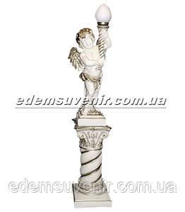 Светильник Ангел на колонне