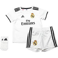 Детская футбольная форма Реал Мадрид домашняя (2018-2019), Adidas, Клуб, 5960e61cf4e