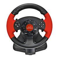 Руль USB Esperanza EG103 Black Red, фото 1