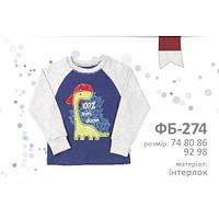 Детская футболка для мальчика р.74