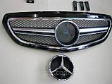 Решетка радиатора на Mercedes E-Сlass W212 с 2013 года, фото 3