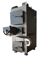 Пиролизный котел с пеллетной горелкой 60 кВт DM-STELLA, фото 3
