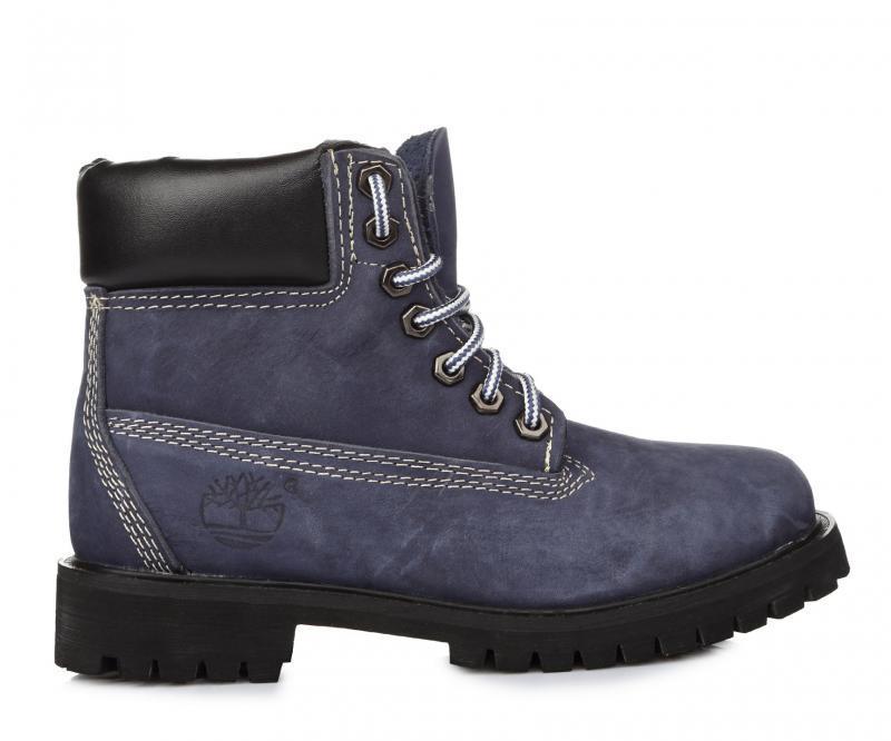 Оригинальные женские ботинки Тимберленд original Timberland 6 inch Blue синие