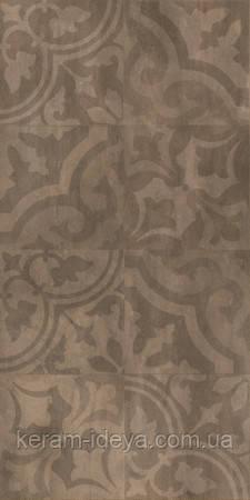 Плитка для підлоги Golden Tile Kendal 300x600 коричнева орнамент