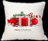 Новогодние подушки пошив