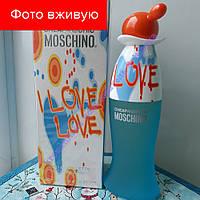 100 ml Moschino I Love Love. Eau de Toilette | Женская туалетная вода Москино Лав Лав 100 мл