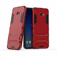 PC + TPU чехол Metal Armor для Samsung Galaxy J4 Core (6 цветов)