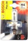 Галогенная лампа H4 12V 60/55W (свет +30%) блистер — Bosch (Германия) - 1987301002