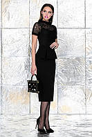 Женская черная блуза 6.866 Noche Mio