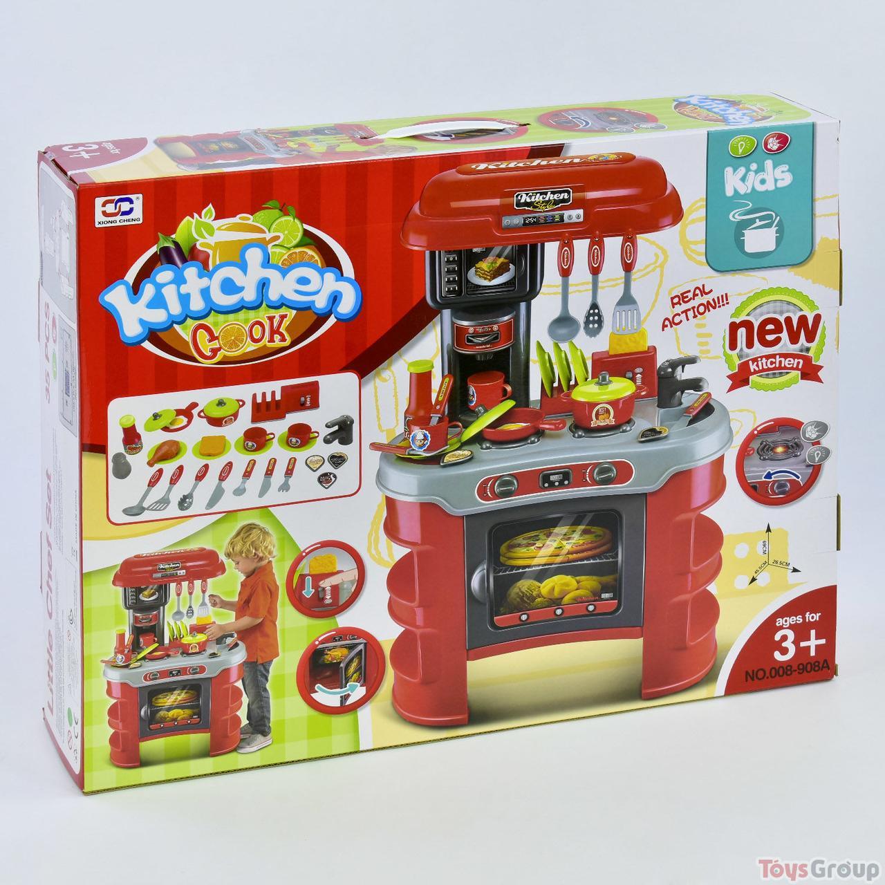 Кухня 008-908 А (5) з аксесуарами, звук, світло, в коробці