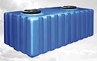 Емкость бак пластмассовая 1650 литров квадратная, фото 2