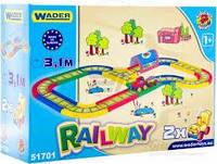 "Іграшковий набір Wader Залізниця ""Kid Cars 3D""51701, размер 3.1 метра"