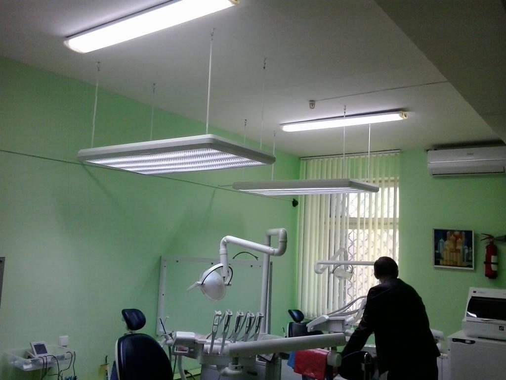 Переоборудование бестеневых ламп Стоматология