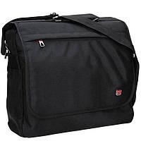 Портфель Enrico Benetti Eb47139001 Cornell Black с отделом для ноутбука 15,6 38*31*11см