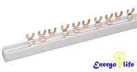 Шина соединительная для 1ф. автоматов 1,2х7 Вилка, 100шт/уп, ST682