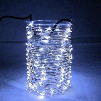 Гирлянда стакан  10М тонкая проволка, фото 2