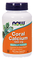 Now Foods Coral Calcium 1000 mg,capsules 100, фото 1