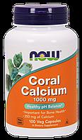 Витамины Now Foods Coral Calcium 1000 mg,100 capsules, фото 1