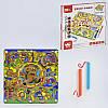 Лабиринт на магнитах C31326 деревянная развивающая игра доска с желобками с металлическими шариками