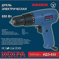Шуруповерт сетевой Искра профи ИДЭ-850 (дрель электрическая)