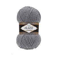 Пряжа для вязания Alize Lanagold DUE 651 (Ализе Лана голд)