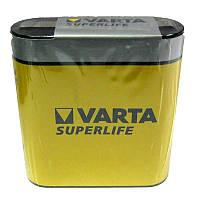 Батарейка  квадрат 3R12   VARTA SuperLife tray