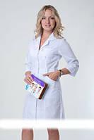 Медицинские женские халаты белые
