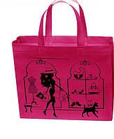 Эко сумка Tashima  с молнией 32*27*10