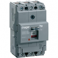 Корпусный автоматический выключатель Hager 18kA 16-160А