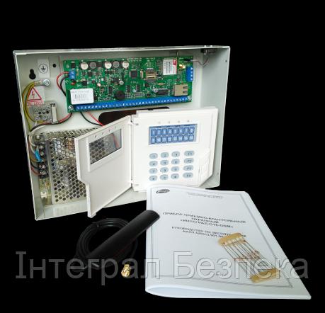 Прибор приемо-контрольный охранный ППКО «Интеграл-GSM8»
