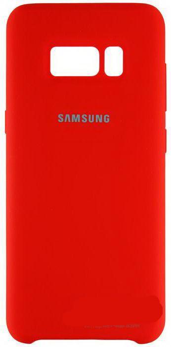 "Накладка Samsung S8+ ""Original Case"" Red"