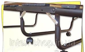 Раскладушка ортопедическая на 15 ламелях с подголовником. Италия, фото 2