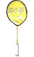 Ракетка для бадминтона детская Star Junior Yellow