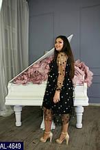 Коктейльное платье AL-4649