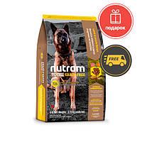 Nutram T26 Total Grain-Free Lamb & lentils Dog без злаков 11,34 кг
