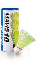 Воланы для бадминтона пластиковый Mavis 10 (1/4 Doz.) 3 шт. Middle