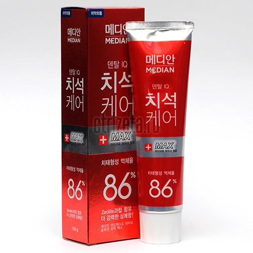 Зубная паста Amore pacific MEDIAN +MAX 86% Toothpaste