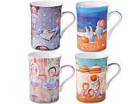 Набор коллекционных кружек Lefard Gapchinska 4 шт 924-023