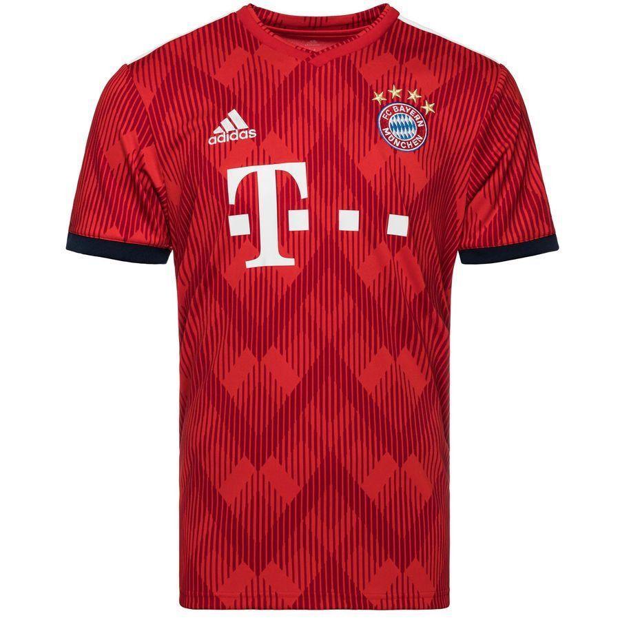 9e66a3ff2242 Футбольная Форма Бавария Домашняя (2018-2019), Adidas, Клуб ...