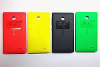 Задняя крышка Nokia X Dual Sim (RM-980), красная, Bright Red, оригинал (Китай)