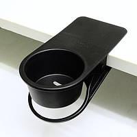 Клипса - подставка под напитки черная DCI